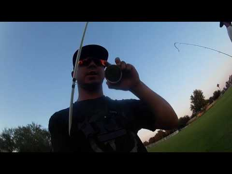 Urban Pond | Bass Fishing At Night