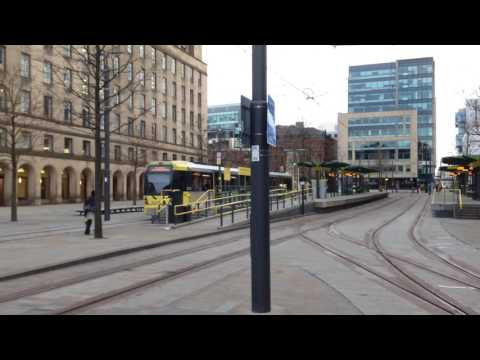 St Peters Square Trams