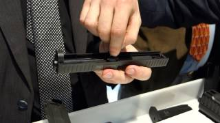 Arsenal Firearms Strike One Pistol System Demonstrated/Explained at SHOT Show 2013