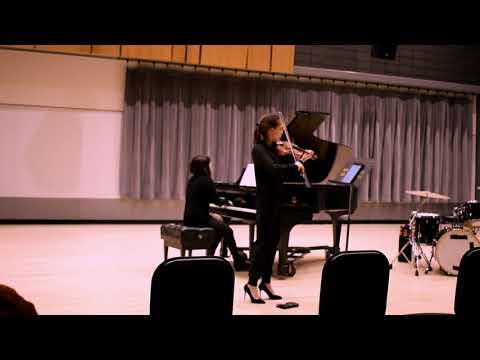 Tartería (2018), for violin & piano  — Ian A. Frederick Obregón