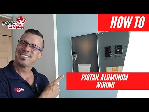 How to pigtail aluminum wiring to copper