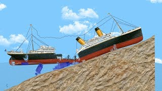 I Tried to Save the Sinking Titanic But I Only Made it Worse... - Floating Sandbox Gameplay