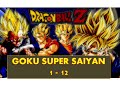 Dragon Ball Z Goku All Form Super Siayan 1 - 12