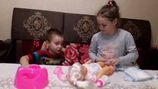 Сестренка куклы  Baby Burn моя кукла Маленький пупсёнок(, 2016-11-26T11:44:34.000Z)