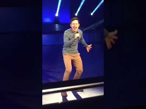 David Archuleta~Don't Let The Sun Come Down on Me/Walking in Sunshine~2018
