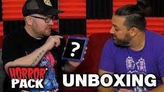 November 2018 Horror Pack Unboxing! - Horror Movie Subscription Box