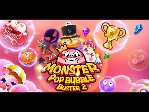 Free Android Game Monster Pop Bubble Buster 2 (Candy Crush Saga Style Game)