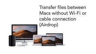 How to Transfer FiĮes between Macs Through Airdrop
