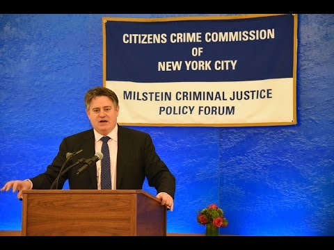 Citizens Crime Commission Milstein Forum featuring London Deputy Mayor Stephen Greenhalgh