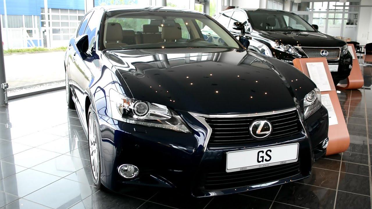 2014 New Lexus GS 250 Luxury Line 2.5 VVTi - YouTube