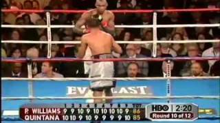 Carlos Quintana vs Paul Williams - 3/4