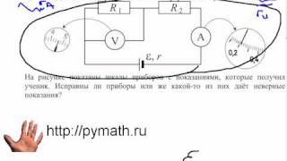 ЕГЭ физика С4. Эдс батареи.Видео урок