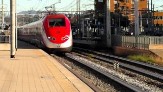 Treni alta velocità FrecciaRossa pendolino FrecciArgento treni merci e passeggeri a Firenze Rifredi