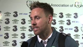Rob Elliot post match interview - Ireland 1 Turkey 2