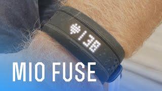 mIO Fuse  обзор и тест наручного пульсометра