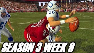 IT MUST BE FUN BEING PEYTON MANNING - MADDEN 2004 CARDINALS FRANCHISE VS COLTS (S3W9)