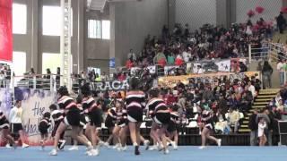 Campeonato Nacional Cheerleader en Viña del Mar con apoyo Casa del Deporte Municipio