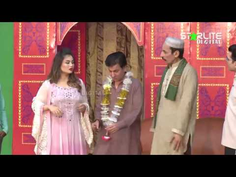 Tariq Teddy And Iftikhar Thakur Funny Play - New Pakistani Stage Drama 2017 - Full Comedy Clip 2017