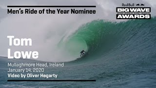 Tom Lowe at Mullaghmore | RIDE OF THE YEAR AWARD NOMINEES