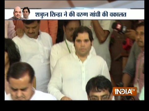 Controversy Over Varun Gandhi's CM Candidature For Uttar Pradesh Assembly Elections 2017