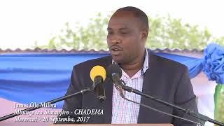 Mbunge wa chadema amwagia sifa Rais Magufuli