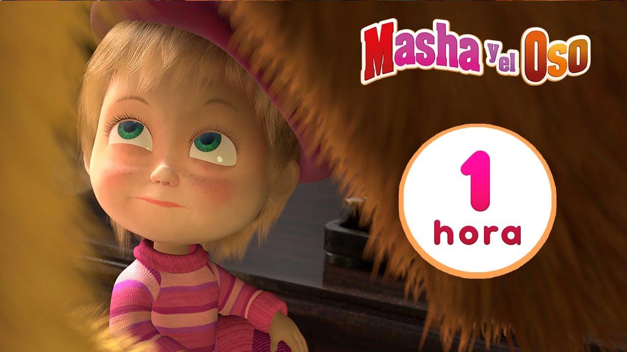 Masha y el Oso 🕶️😈 Masha, Inc.🕶️😈Colección de dibujos animados 🎬 1 hora