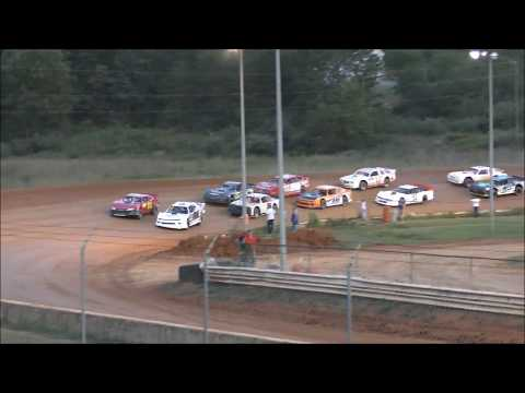 Street Stock race at natural Bridge Speedway on August 31, 2019. - dirt track racing video image