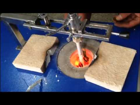 jewellery gold and silver vacuum casting process YouTube