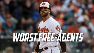 MLB | Worst Free Agent Signings of Recent Memory