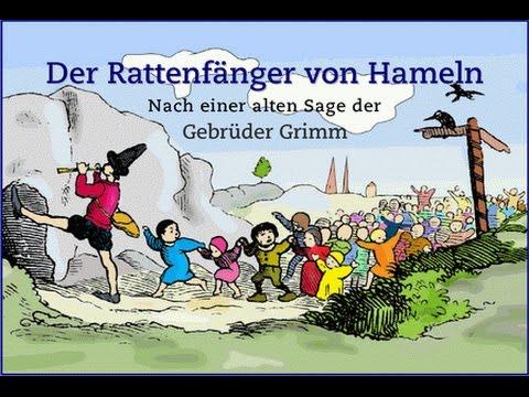 Top Legenden und Mythen in Deutschland: Der Rattenfänger von Hameln  AR87