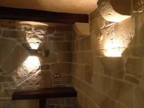 Bodega con el sistema estone tex tematizaci n simil piedra - Decoracion paredes de piedra ...