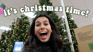 getting into the christmas spirit vlog!