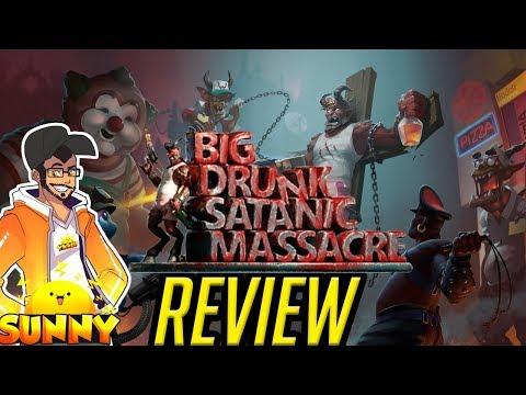 BDSM: Big Drunk Satanic Massacre Review | Nintendo Switch (PC) (Mature Game 18+)
