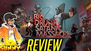 BDSM: Big Drunk Satanic Massacre Review | Nintendo Switch (PC) (Mature Game 18+) (Video Game Video Review)