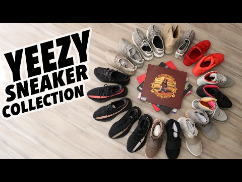 My Entire YEEZY Sneaker Collection (15+ Pairs of Kanye West Sneakers)