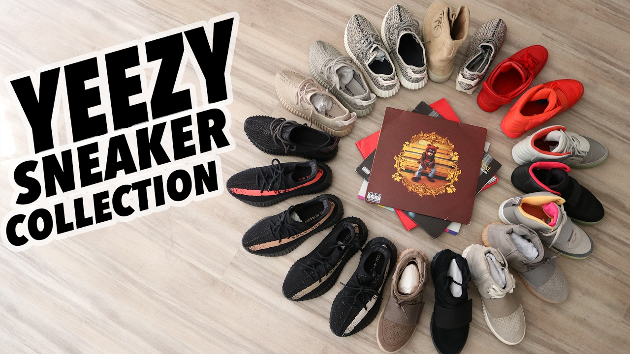 8249f11ffa4ff My Entire YEEZY Sneaker Collection (15+ Pairs of Kanye West Sneakers) -  YouTube