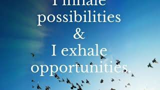 INHALING POSSIBILITIES, EXHALING OPPORTUNITIES - 1 MIN INSIGHTSTORY by Wafa El Hilali (Episode 3)