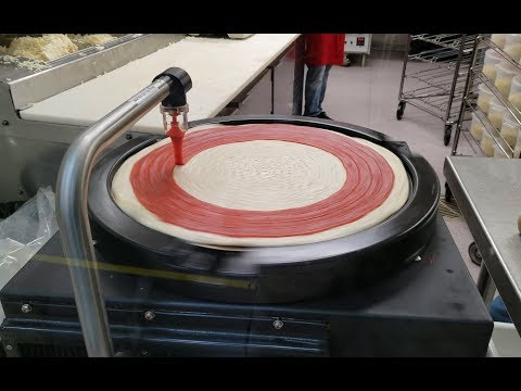 Costco Pizza Sauce Machine In 4K