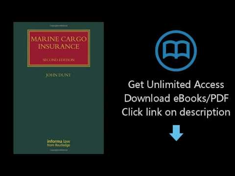 Marine Cargo Insurance, Second Edition (Lloyd's Shipping Law Library)