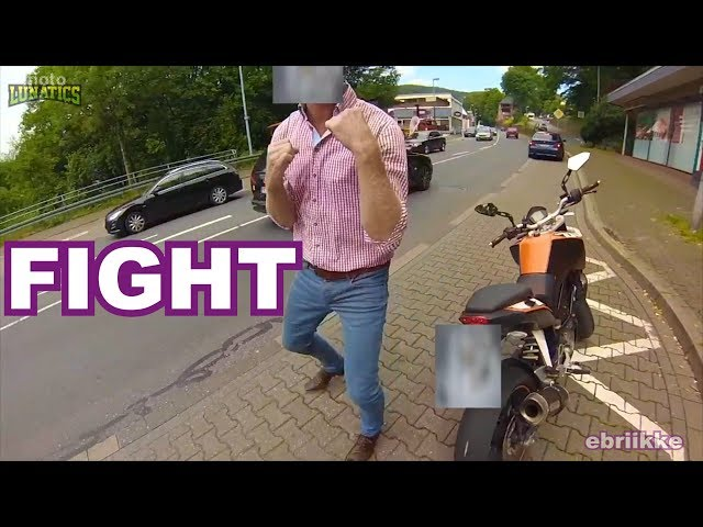 ROAD RAGE Developed Into FIST FIGHT   Motorcyclist & Random Incidents Compilation #6