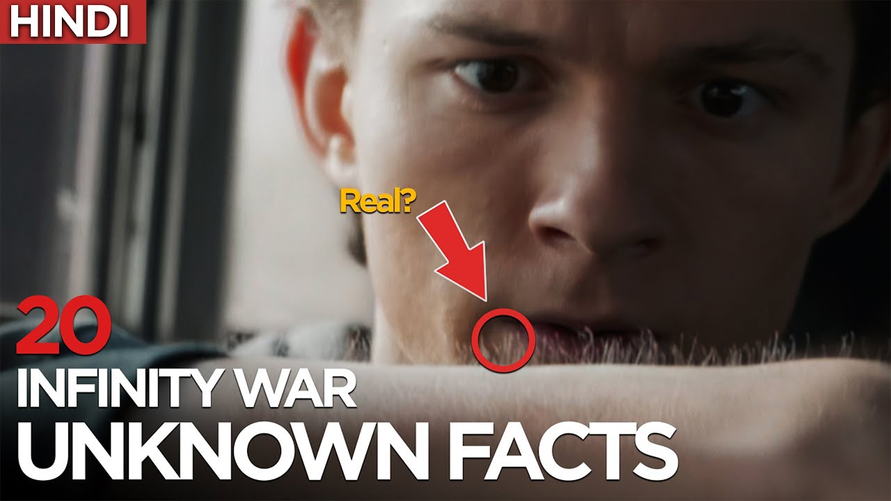😨 20 Behind The Scene Facts of Infinity War (2018) | Marvel Cinematic Universe Movie Facts | HINDI