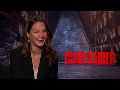 Le retour de Lara Croft avec Alicia Vikander  Reportage cinéma