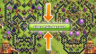 HOW TO COPY LAYOUT IN CLASH OF CLANS | MAJOR FOX