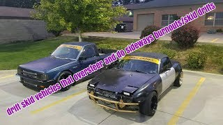 This Video Contains a Drift Truck and Turbo Miata (I've Run Out of Title Ideas)