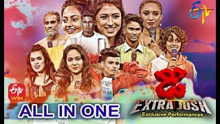 Dhee Extra Josh | All In One Performances only on ETV Win & ETV Dhee Youtube