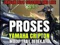 Yamaha crypton modif trail bebek standart