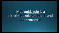 How to pronounce metronidazole (Flagyl) (Memorizing Pharmacology Flashcard)