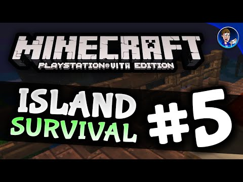 Minecraft PS VITA - Island Survival #5 - RE-POPULATION! + Renovating the Base!