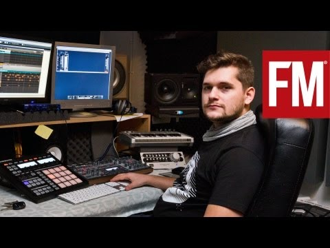 Florian Meindl In The Studio With Future Music