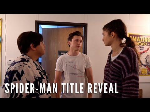 Der neue Spider-Man Titel lautet ...